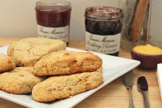 ginger scones recipe