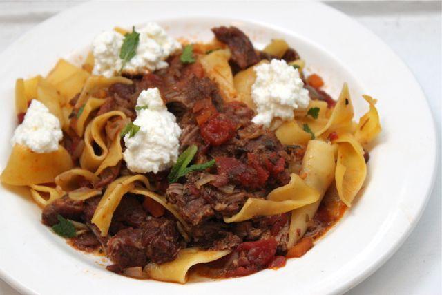 lamb ragu recipe, tomato lamb ragu