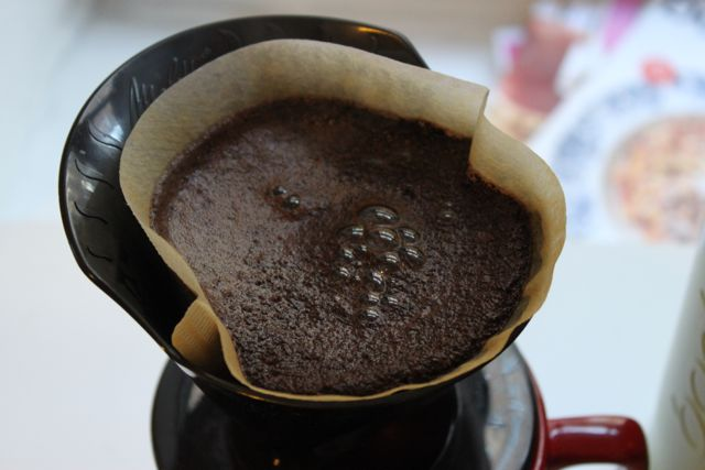 Pour-Over Coffee Method