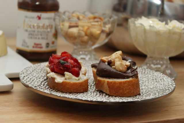 dessert crostini recipes