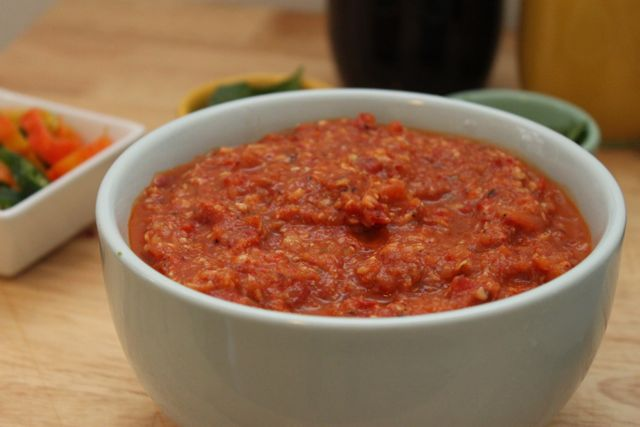 Chipotle-Roasted Tomato Salsa