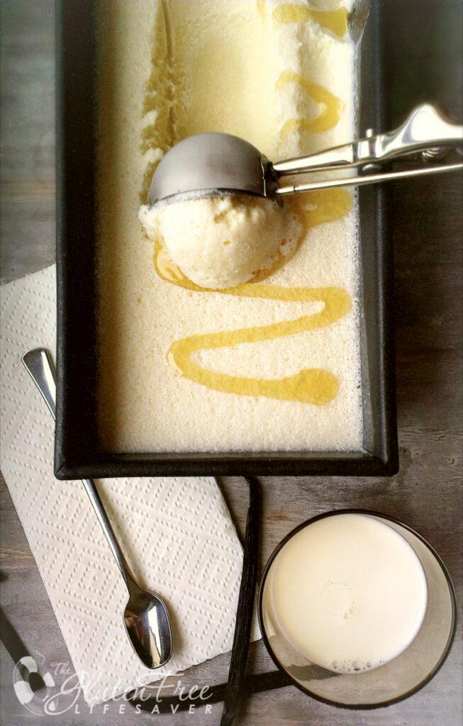 hjemmelaget honningis med bare 4 ingredienser
