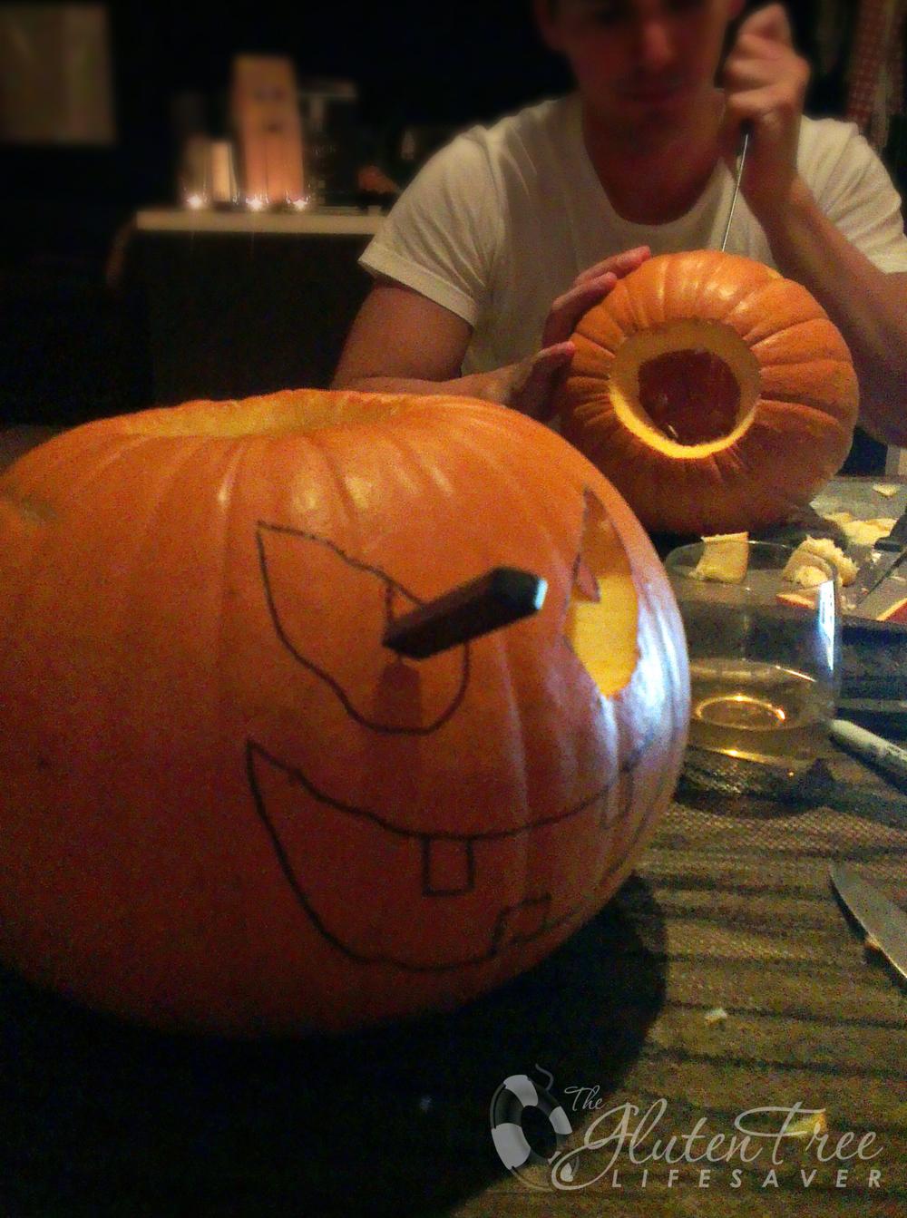 gresskarskjæring halloween