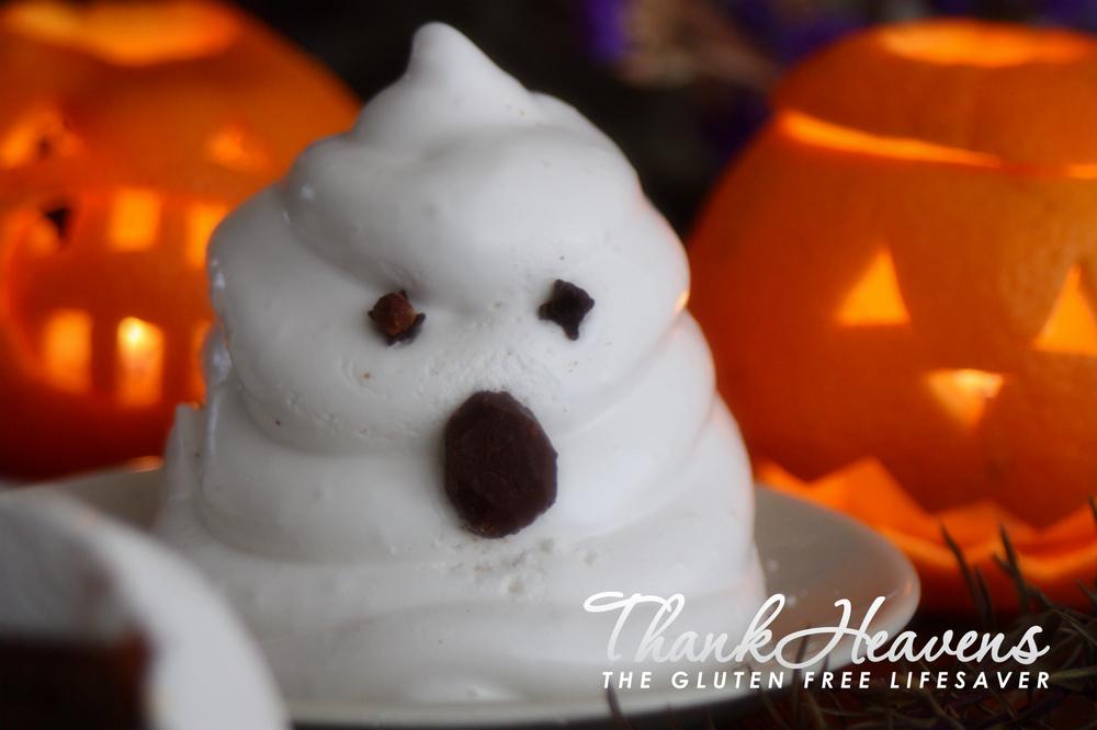 Glutenfri og melkefri marshmallowspøkelser til Halloween!