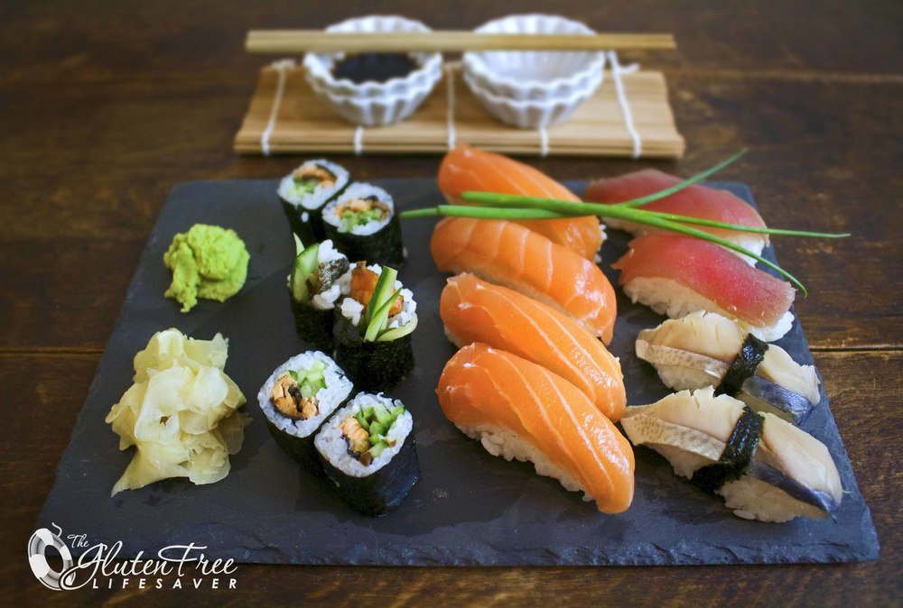 Lag din egen sushi - Gluten Free Lifesaver