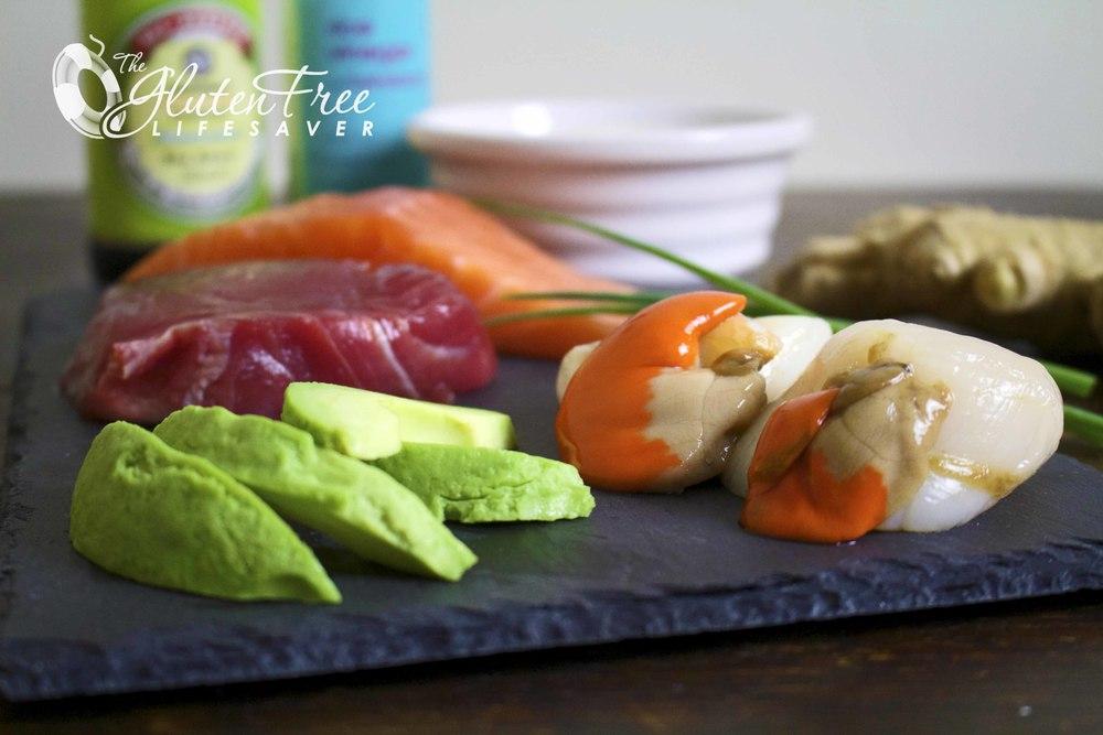 lag din egen sushi - oppskrift