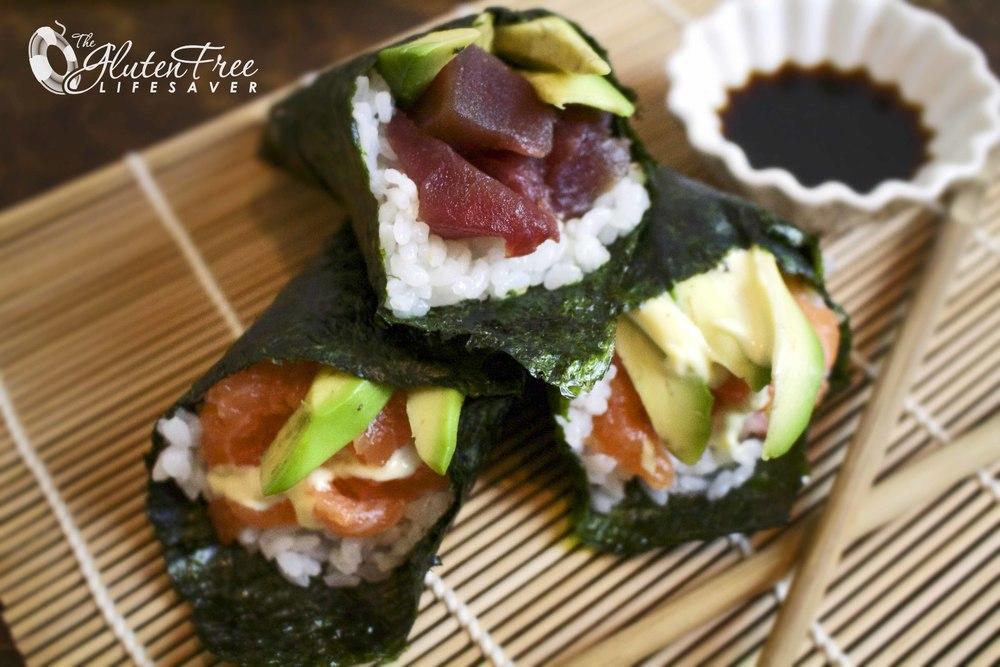 Handroll - Hvordan lage sushi