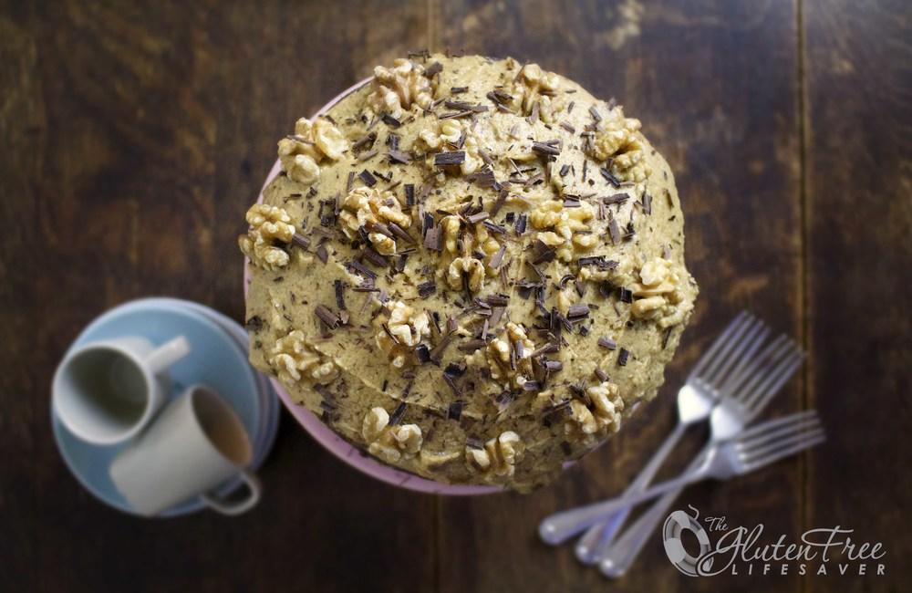 glutenfri engelsk kaffekake oppskrift