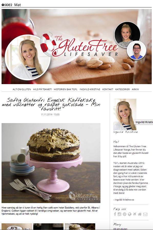 The Gluten Free Lifesaver på blogg.no