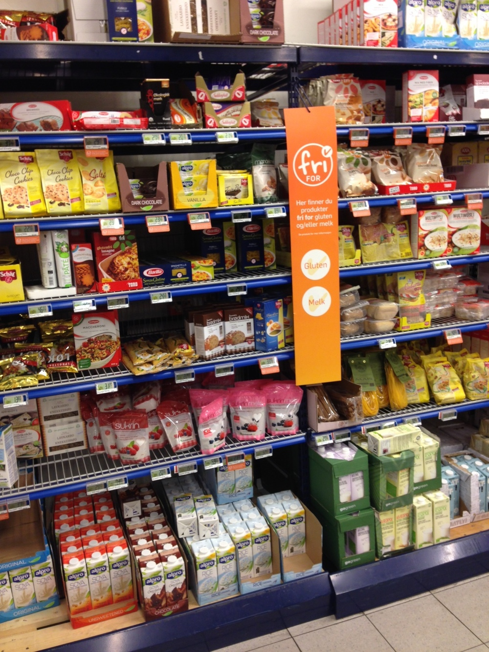 glutenfri butikker oslo
