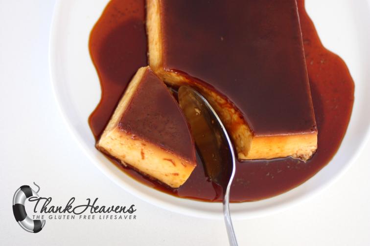 Melkefri karamellpudding som smaker akkurat like godt!