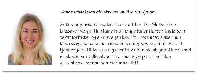 Astrid Dyson - The Gluten Free Lifesaver