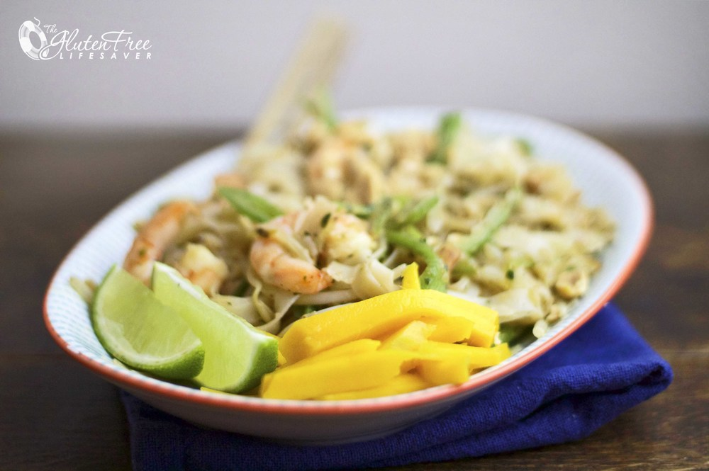 Fargerik og fantastisk vietnamesisk Pad Thai på bare 10 minutter!
