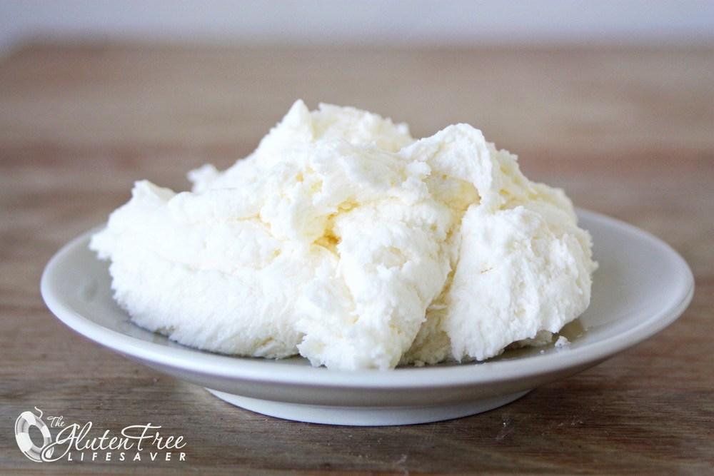 Melkefritt alternativ til cream chesse frosting, eller gulrotkakefyll