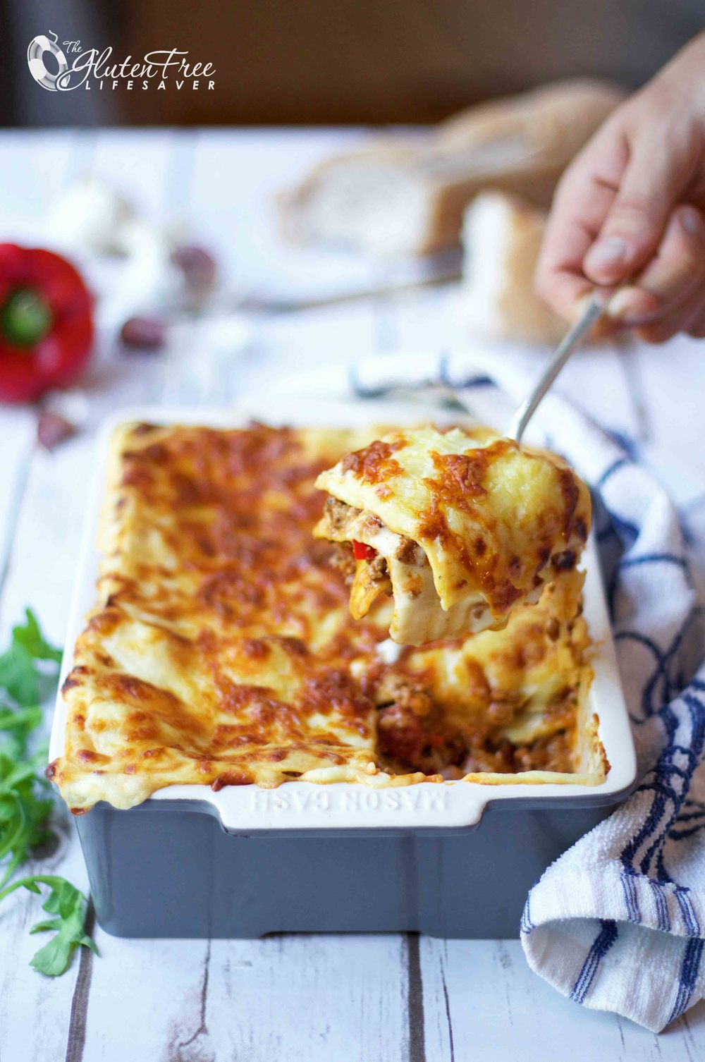 oppskrift på glutenfri tomatfri lasagne