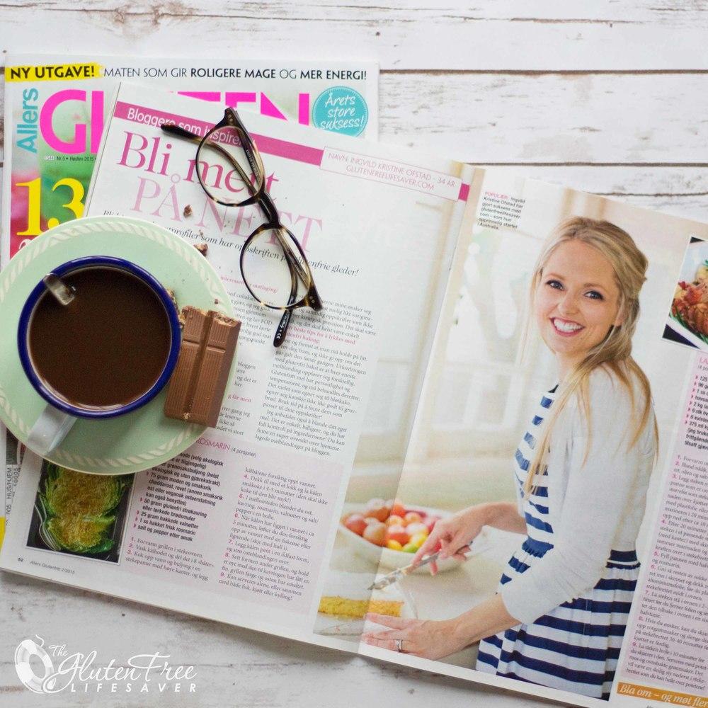 I siste utgave av Allers Glutenfritt kan du lese om The Gluten Free Lifesaver