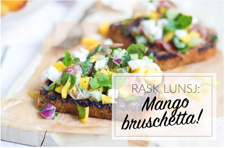 Italiensk lunsjfavoritt som smaker sommer!