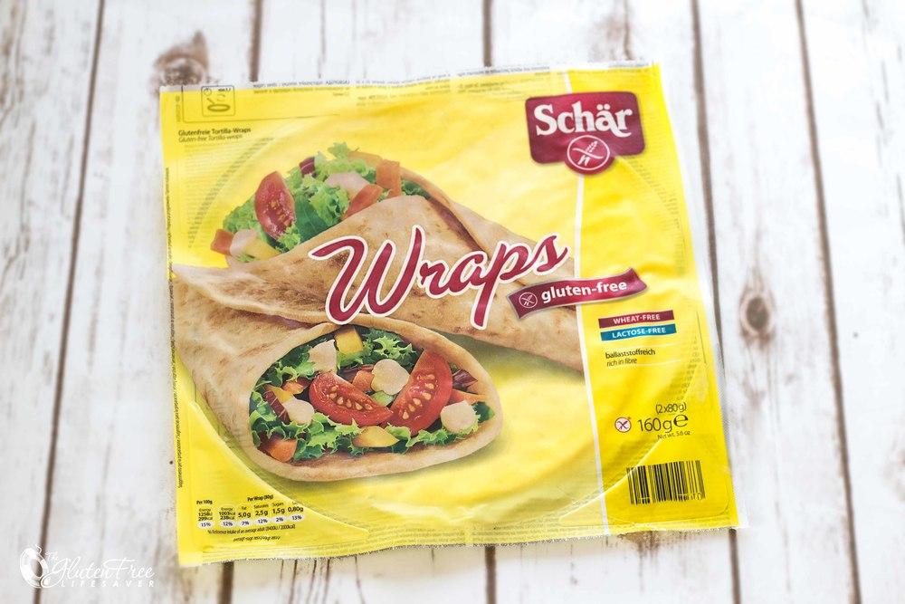 Oppskrift på friske glutenfrie Wraps med Chevre, Mango og Løvetann
