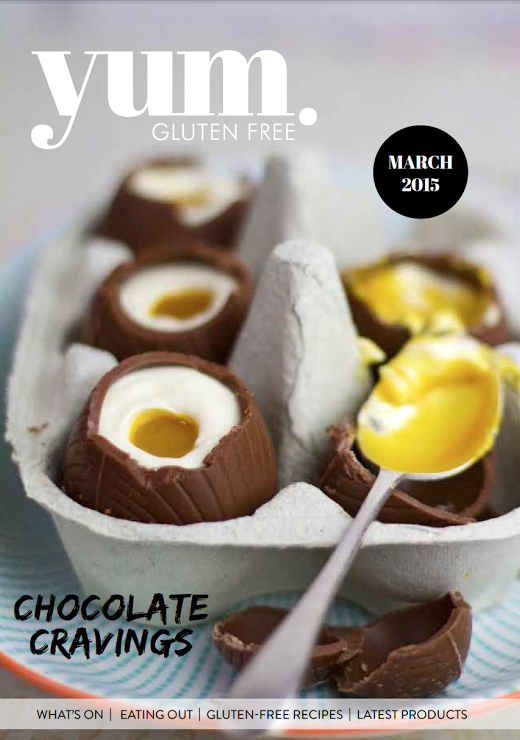 Cover,Australias største glutenfrie magasin.