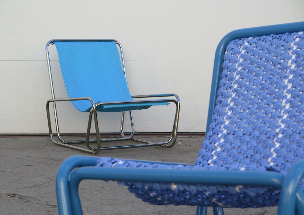 Sedum Lounger - Blue