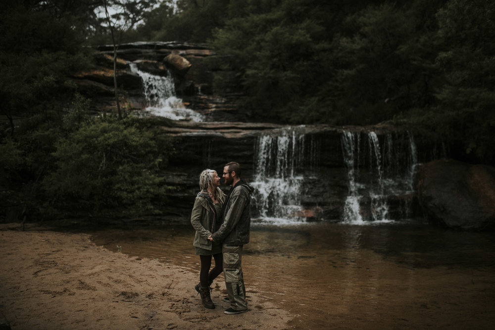 Blue Mountains Engagement Shoot
