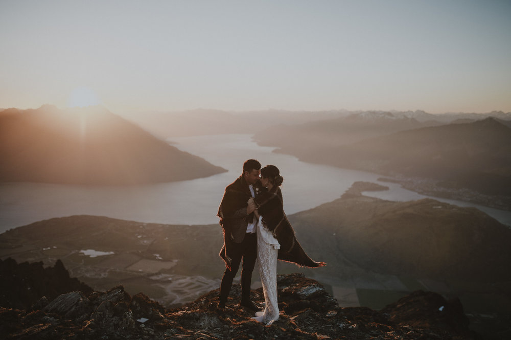 New Zealand Elopement Photographer
