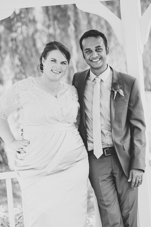 black-and-white-jessica-karthik-bride-and-groom-gazebo