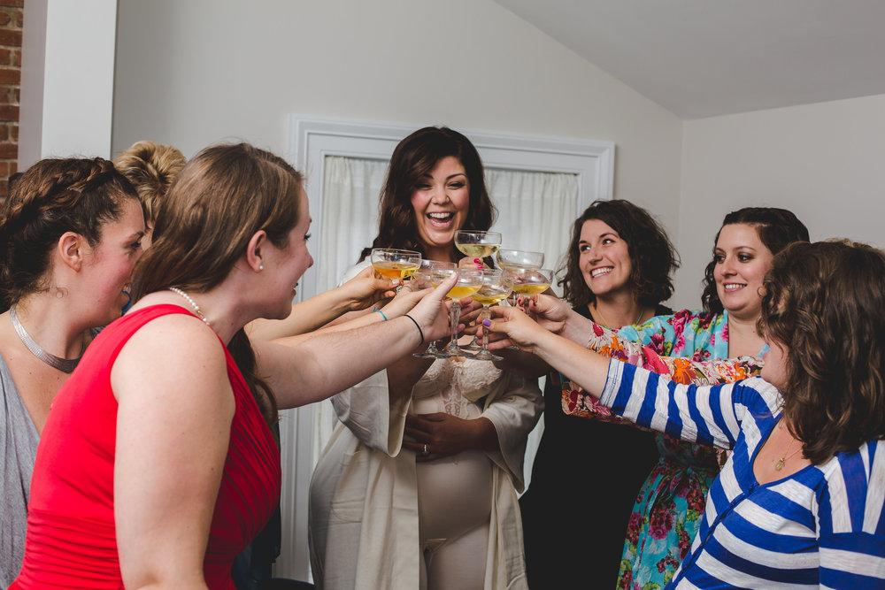 bridal-party-toast-pre-ceremony-ithaca
