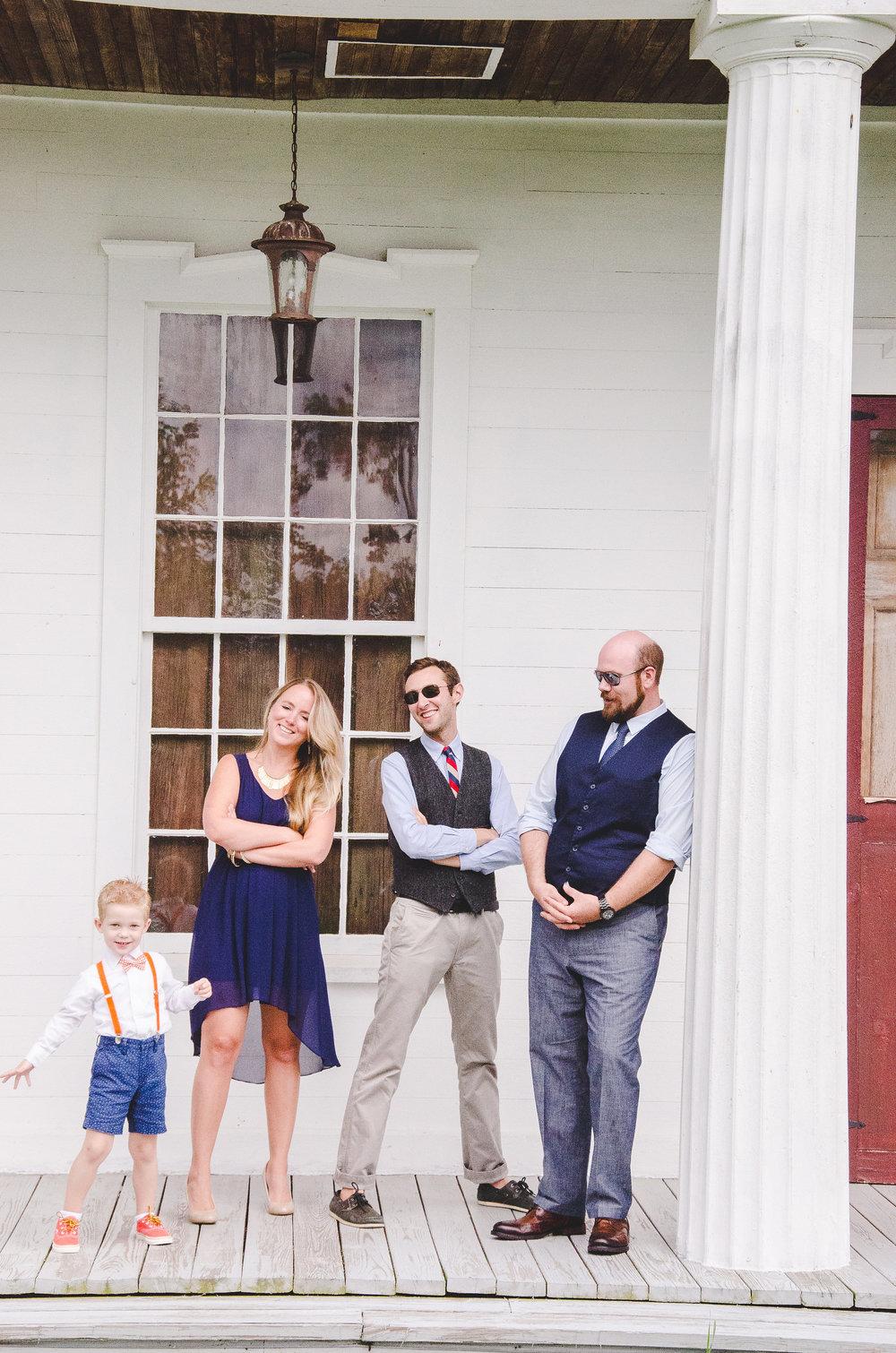 groom-best-woman-groosman-outdoor-portrait