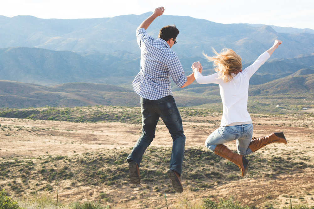 cute-taking-the-leap-engagement-photo-phoenix-ba