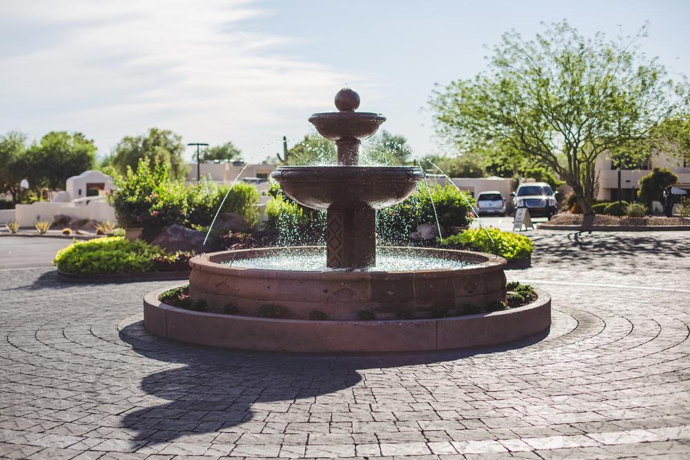 camelback inn fountain