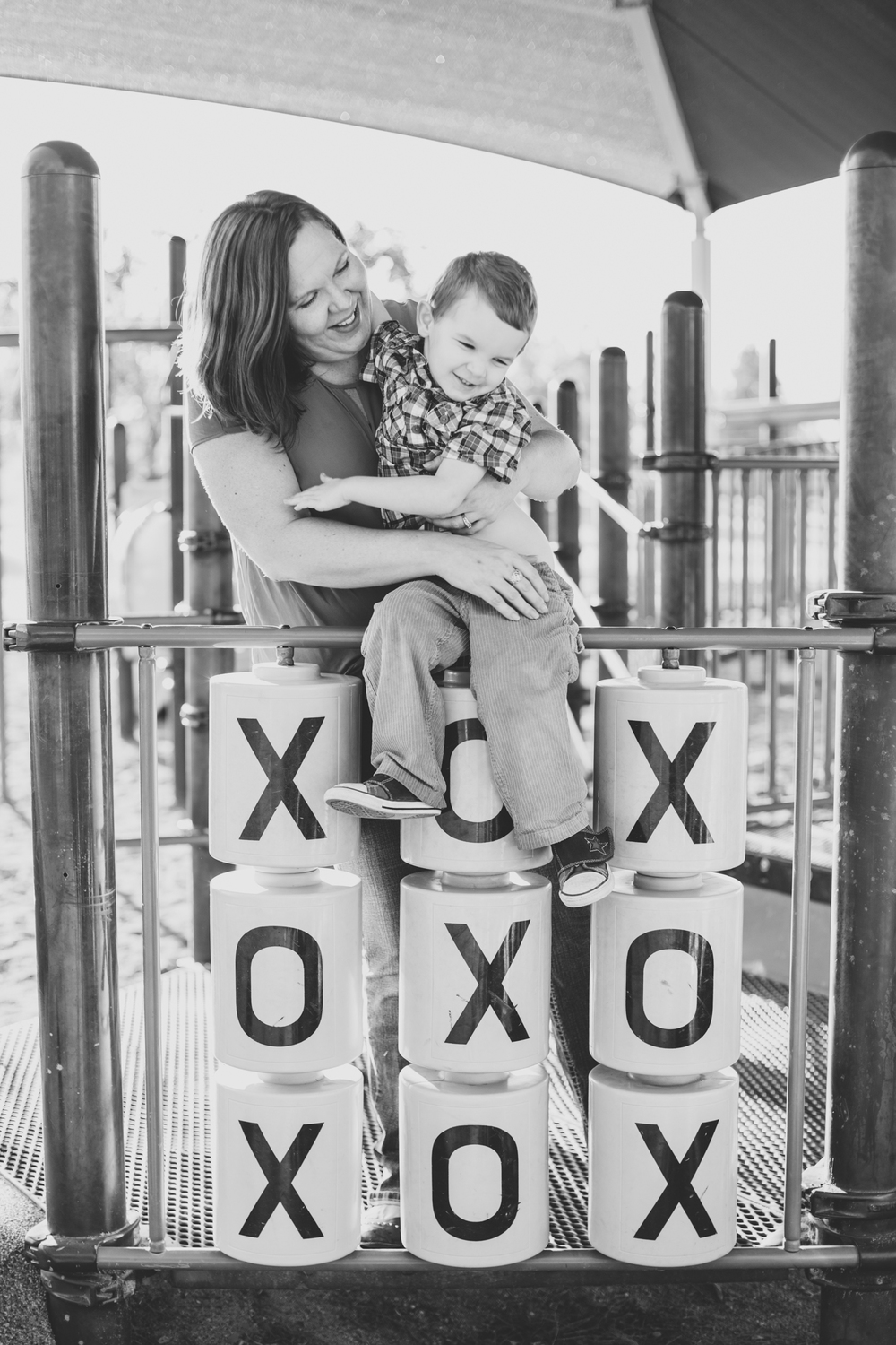 vanessa and her son xoxo bw chaparral park scottsdale az