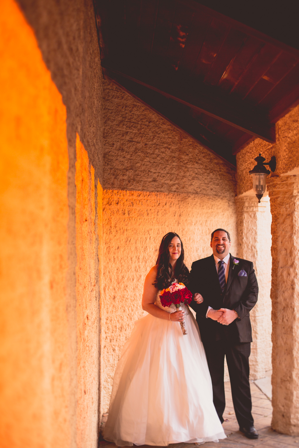 rs creative architectural shot bride groom oklahoma city