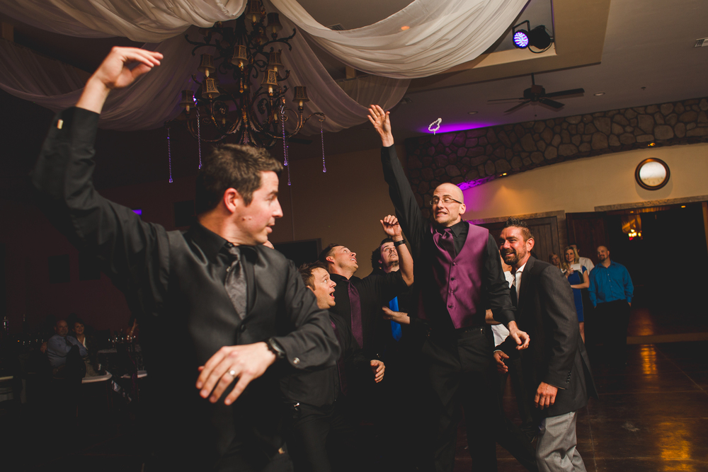 groomsman narrowly misses garter mj