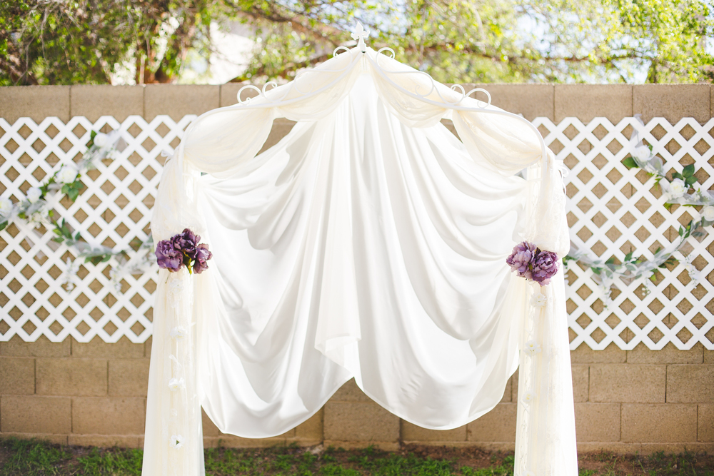 sd wedding arch and decor