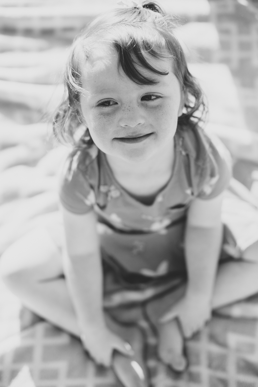 black and white family photography daughter turner