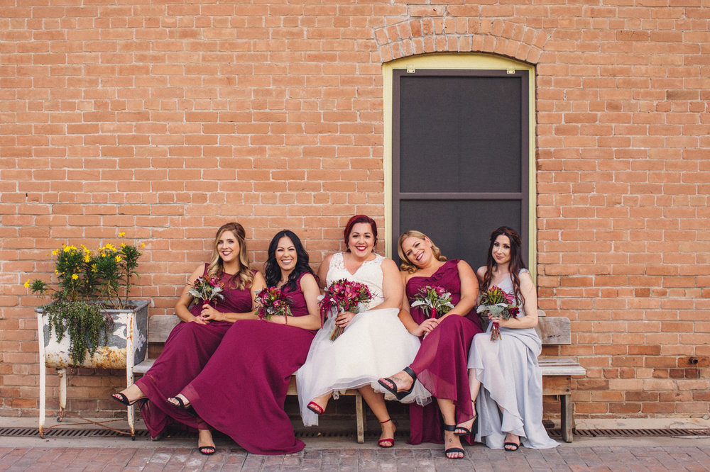 cute-bride-and-bridesmaids-photo
