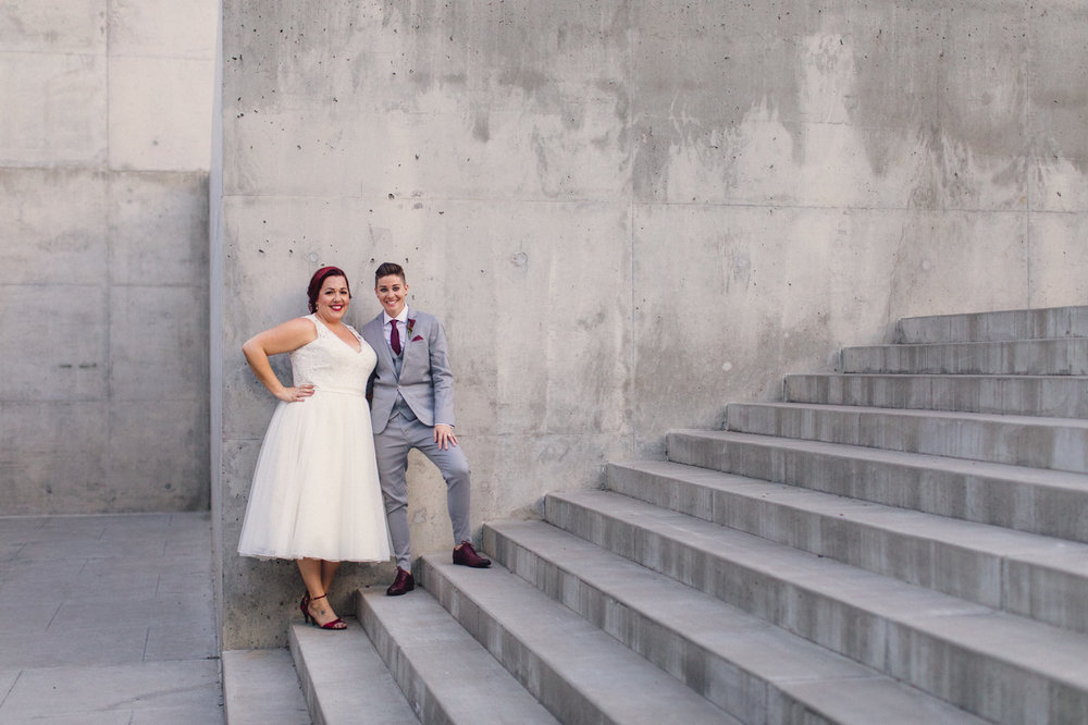 concrete-steps-wedding-portrait