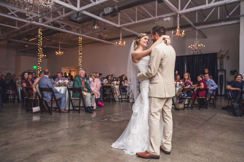 bride-groom-first-dance-at-croft-downtown-wedding-reception