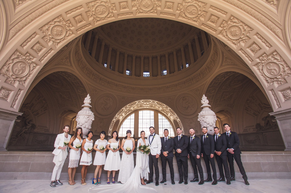 wedding-party-san-francisco-city-hall