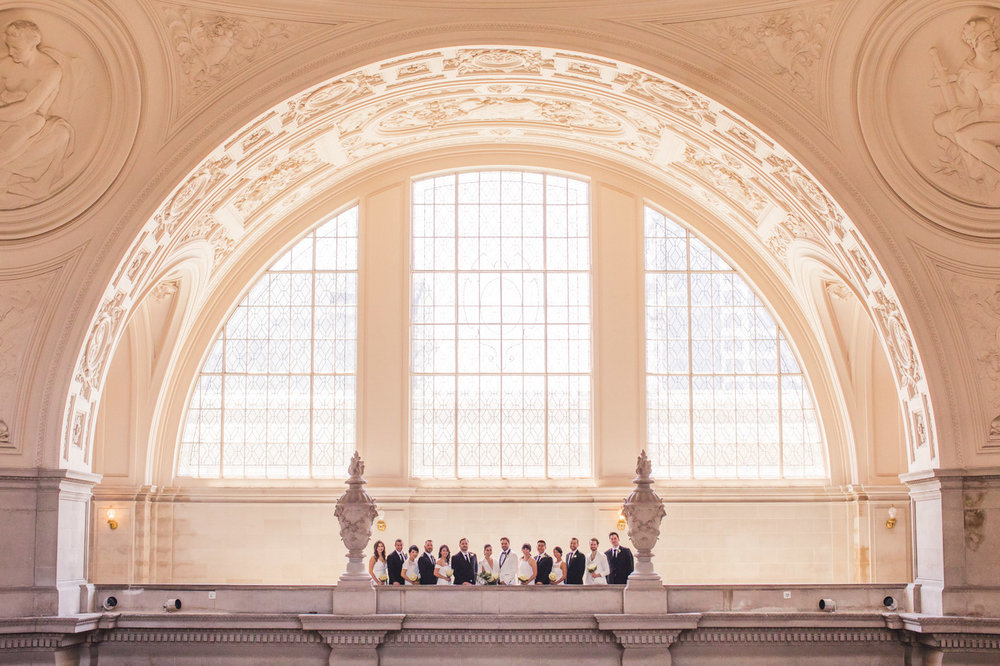 epic-sf-city-hall-wedding-wedding-party-portrait