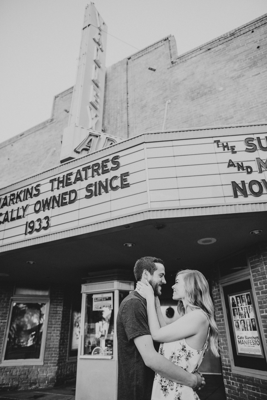 movie-theatre-engagement-session