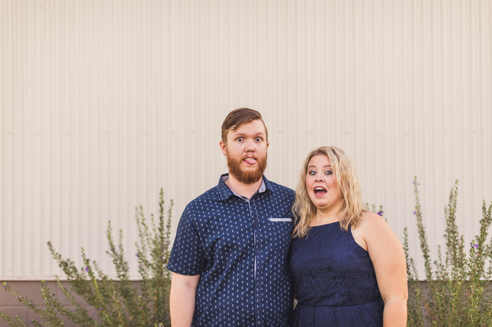 funny-faces-engagement-session