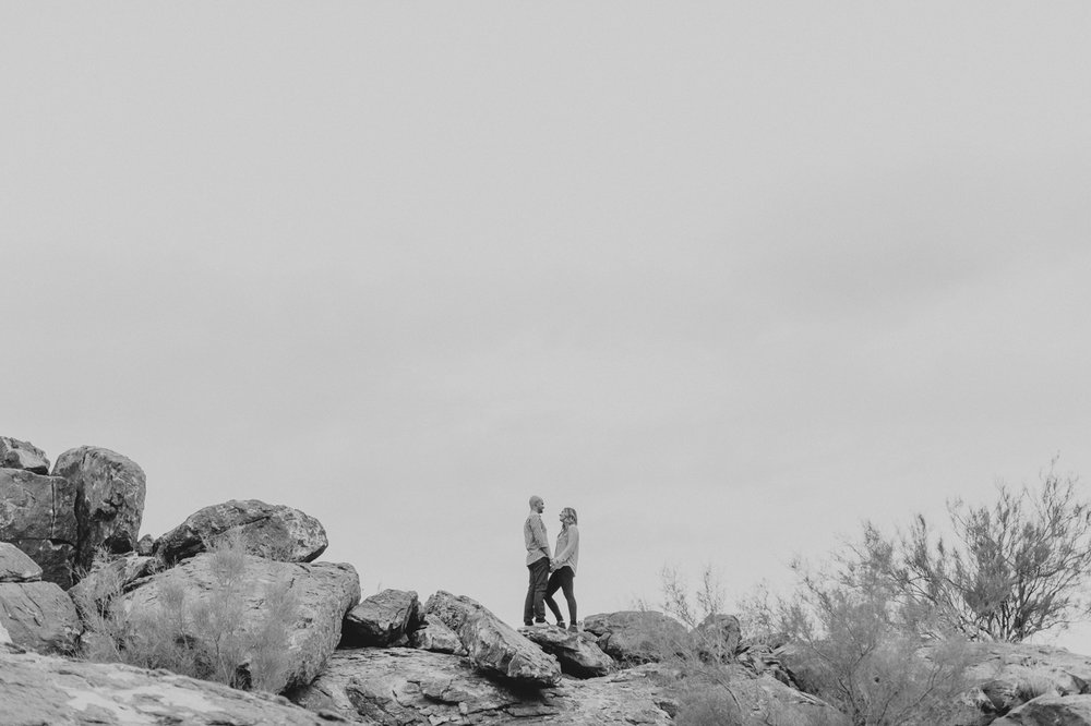 black-and-white-negative-space-engagement-photo