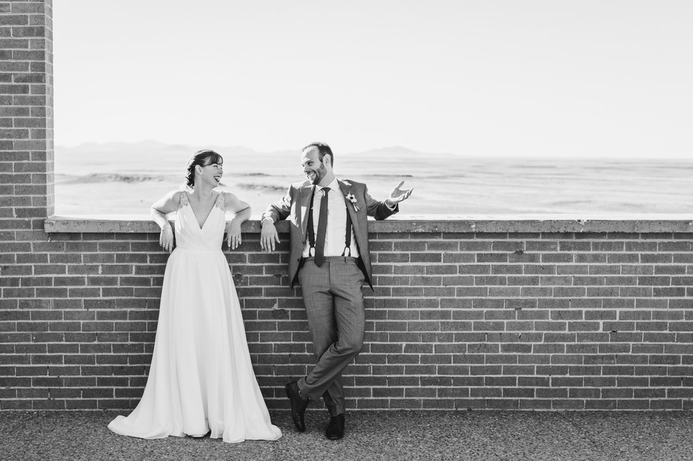 black-and-white-smiling-wedding-portrait