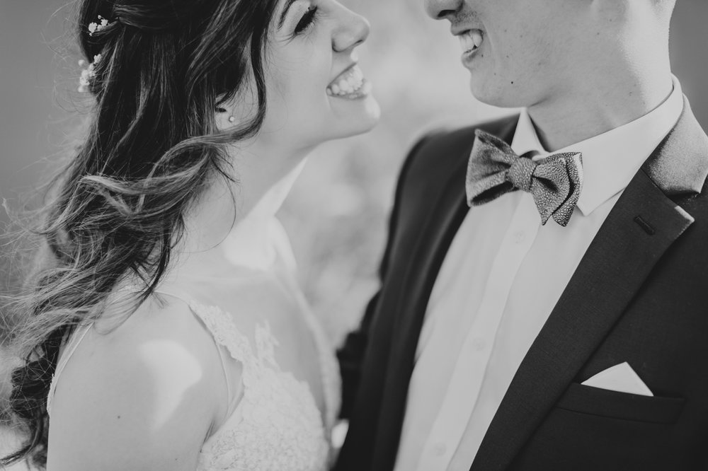 black-and-white-intimate-wedding-moment