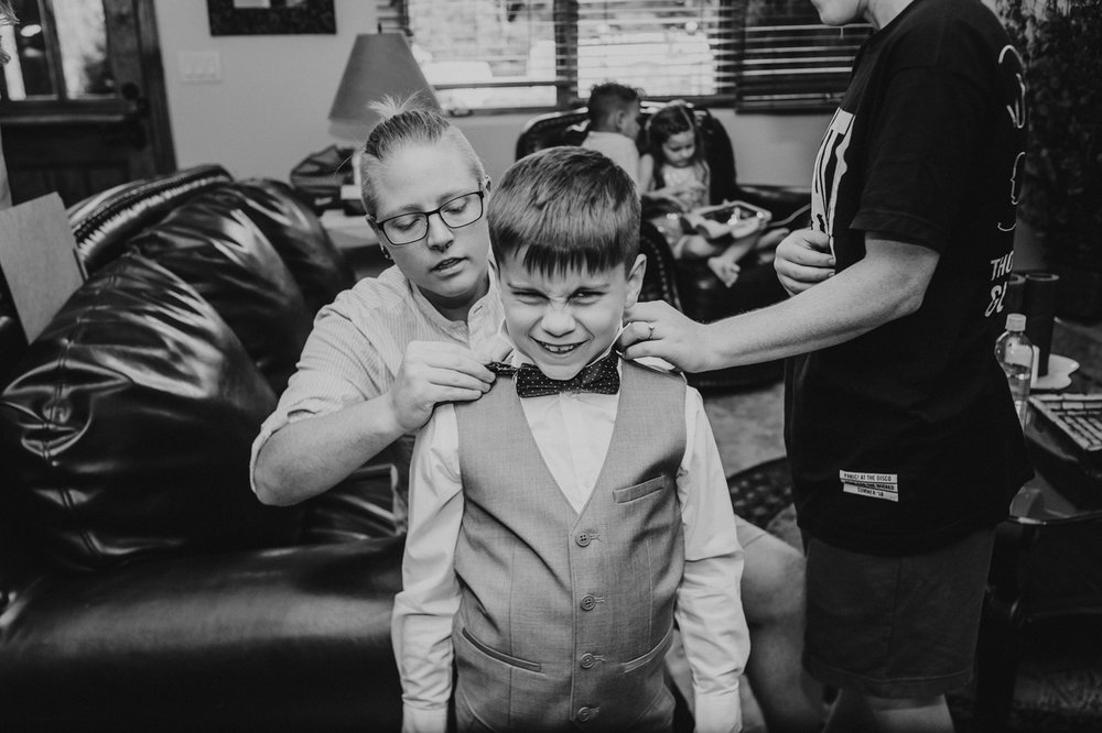 ring-bearer-getting-bow-tie-on