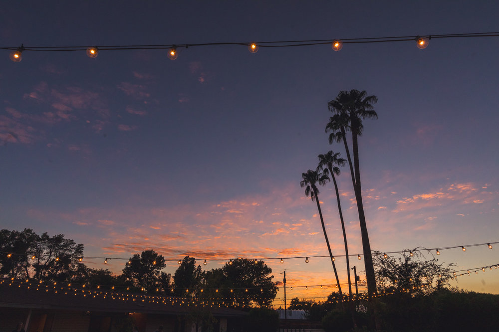 sunset-at-gather-estate-wedding