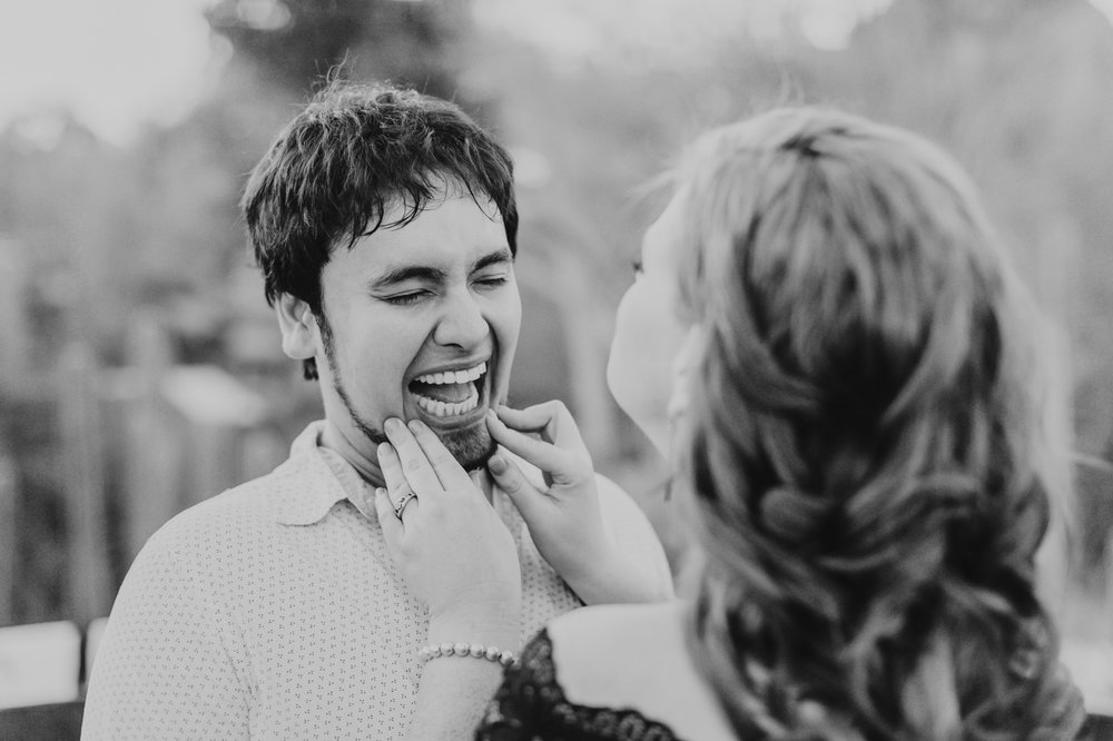 laughing-at-their-engagement-session