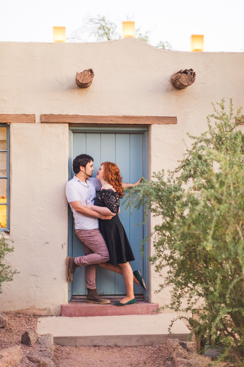engagement-photography-with-couple-in-doorway